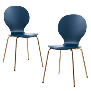 2 Piece Contorno Bentwood Side Chair by V..