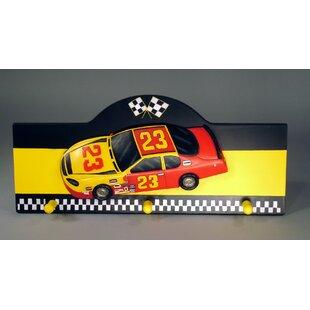Race car wall decor wayfair race car wall peg figurine wall decor teraionfo