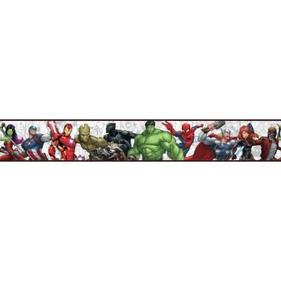 Disney Kids Iii Marvel Characters 15 L X 9 W Wallpaper Border