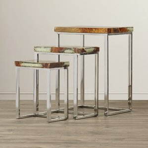Pene 3 Piece Nesting Tables by Bloomsbury Market