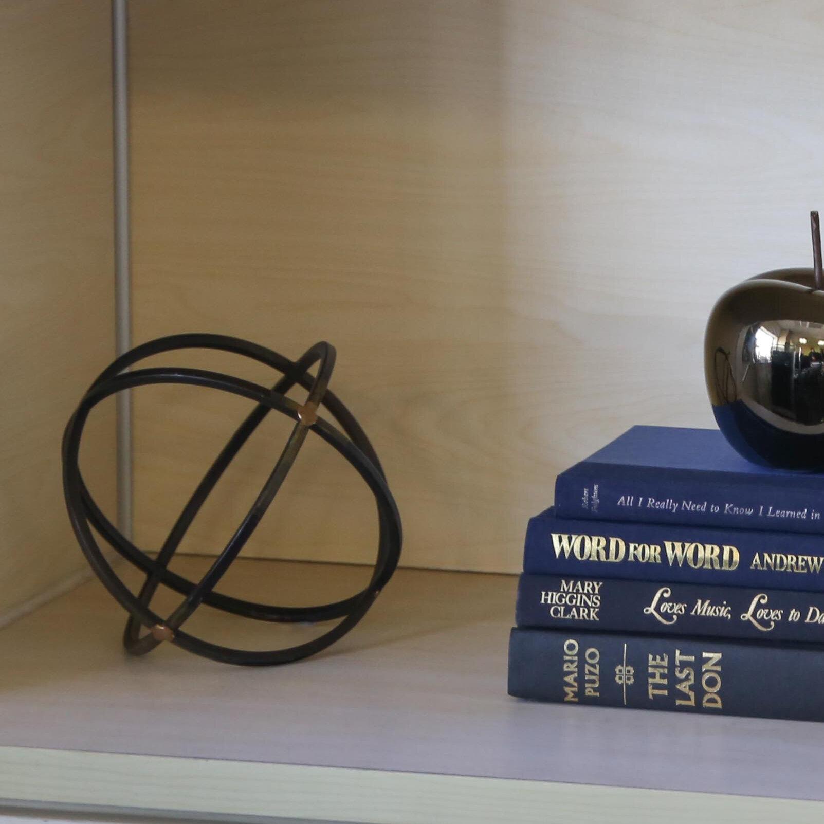 Urban Trends Metal Orb Dyson Sphere Sculpture | Wayfair