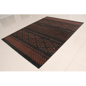 Black/Brown Area Rug