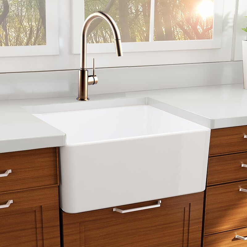 27 x 19 farmhouse fireclay kitchen sink with drain and grid 27 x 19 farmhouse fireclay kitchen sink with drain workwithnaturefo