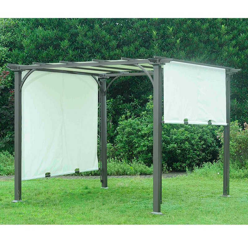 default_name - Sunjoy Replacement Canopy For 8' W X 8' D Adjustable Shade Pergola
