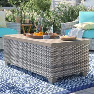 Outdoor Patio Furniture With Storage.Outdoor Coffee Table Storage Wayfair