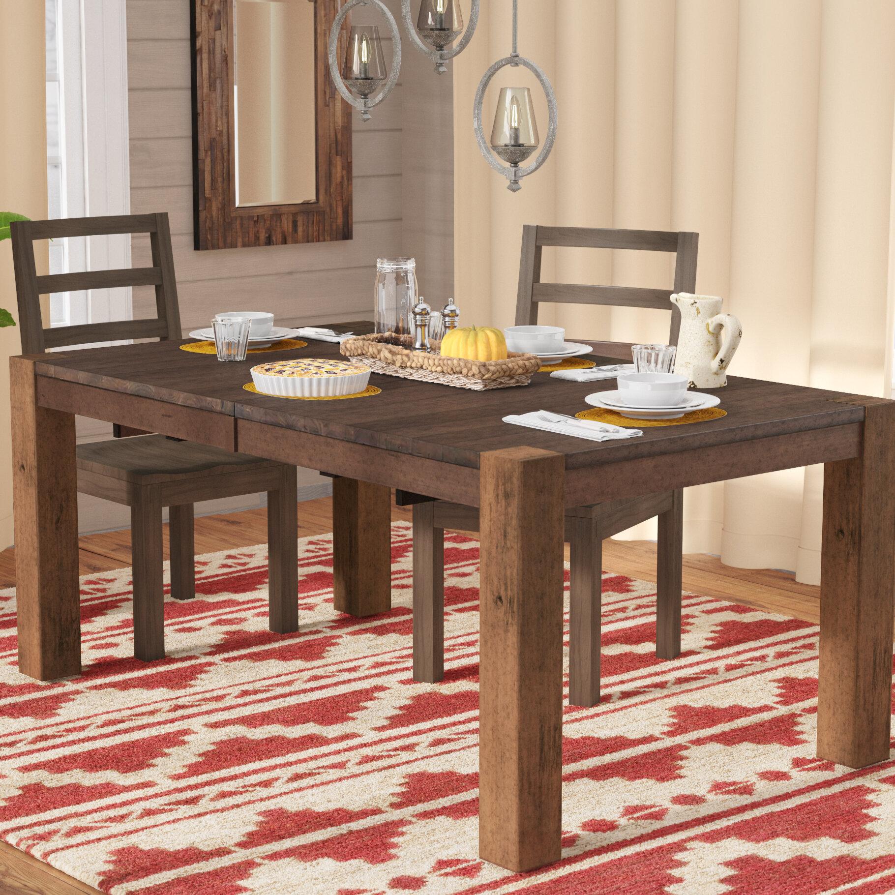 Mistana Trevion Leg Extendable Dining Table Reviews