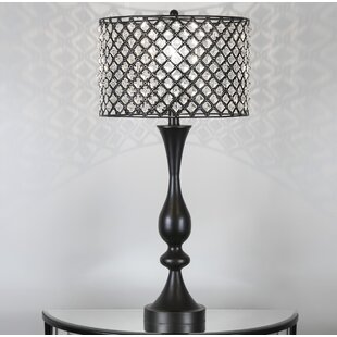 Crystal table lamps youll love wayfair save aloadofball Gallery