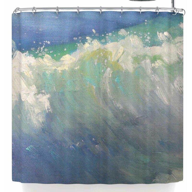 Carol Schiff Caribbean Shower Curtain