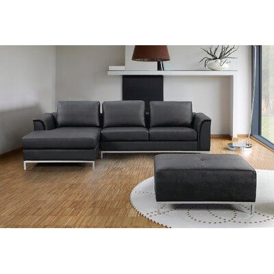 Leather Couch And Chair Wayfair