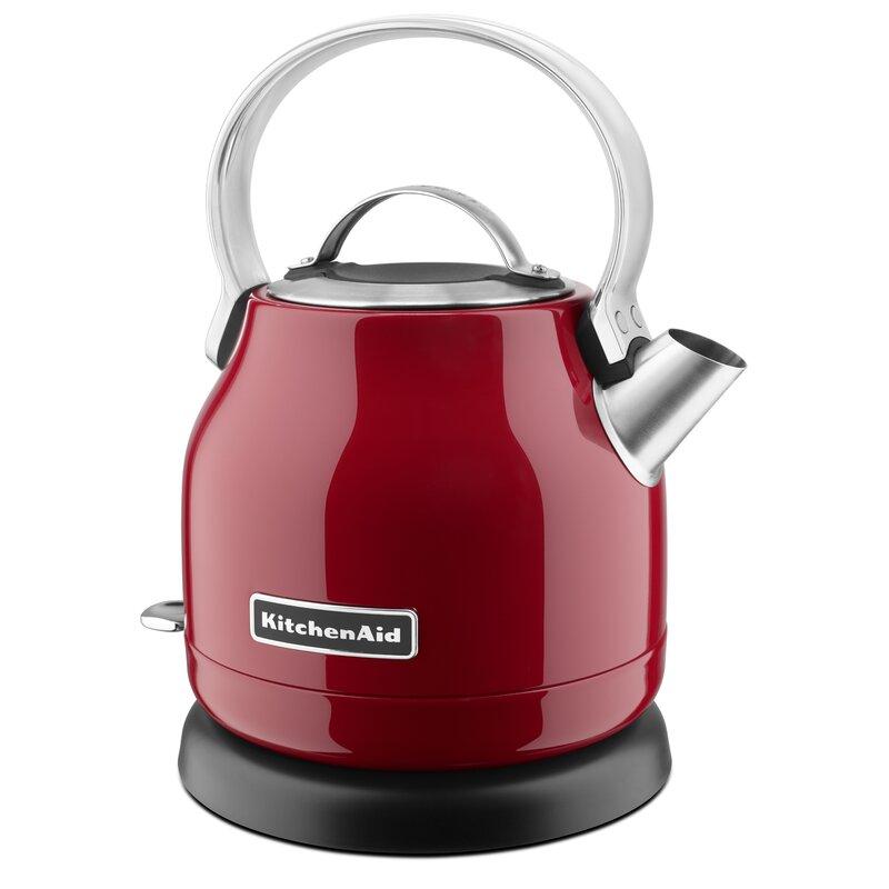 1.32 Qt. Stainless Steel Electric Tea Kettle - KEK1222
