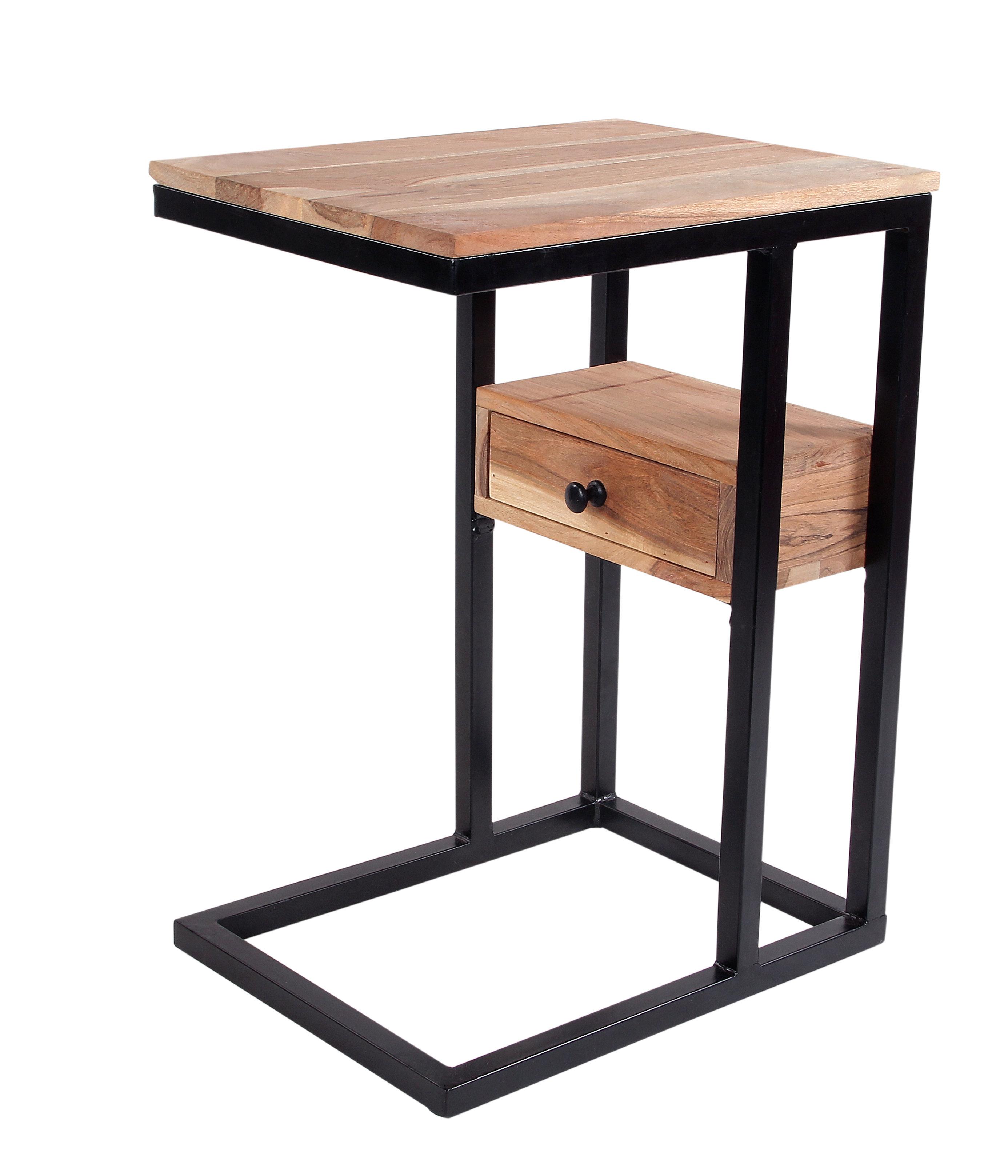 Ebern Designs Xander C End Table With Storage U0026 Reviews | Wayfair