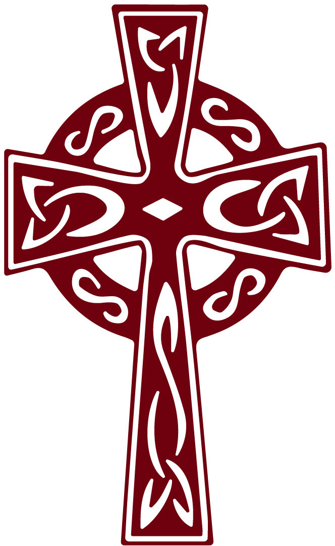 The Decal Guru Celtic Cross Wall Decal | Wayfair