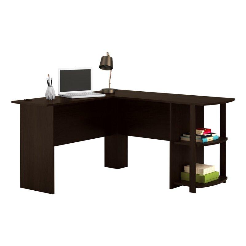Andover Mills Salina L Shape Corner Desk Amp Reviews Wayfair