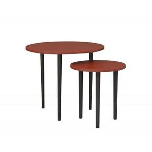 Plum Coffee Table Set By HappyBarok | Cheap Price