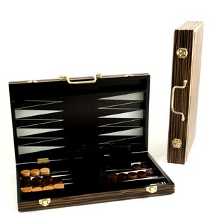 Leather Backgammon Set | Wayfair