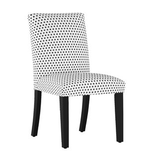 Liverpool Polka Dot Upholstered Dining Chair