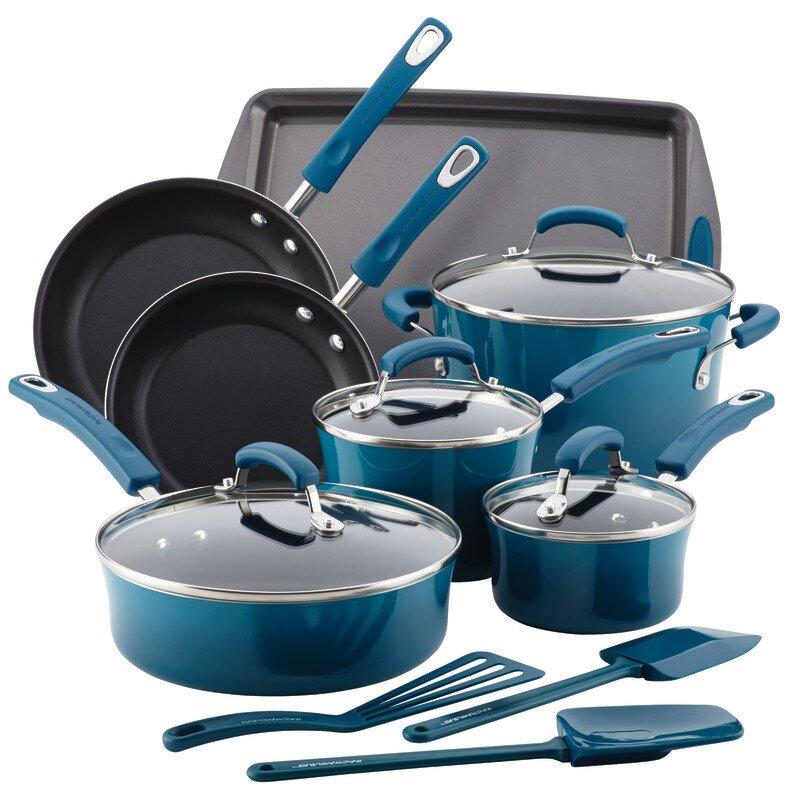 14 Piece Non Stick Cookware Set