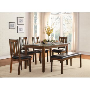 Chet 6 Piece Dining Set