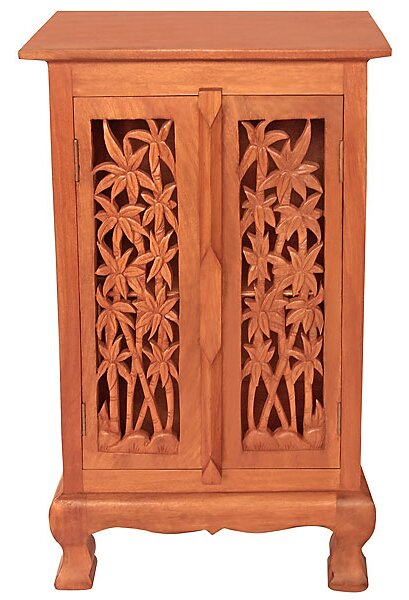 Acacia 2 Door Storage Accent Cabinet  sc 1 st  Wayfair & EXP Décor Acacia 2 Door Storage Accent Cabinet   Wayfair