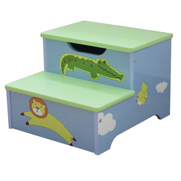 Bon Liberty House Toys Safari Storage Step Stool | Wayfair.co.uk