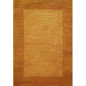 Henley Hand-Tufted Orange Bear Area Rug