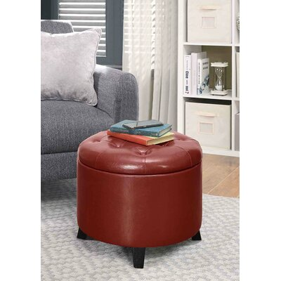 Red Ottomans Amp Poufs You Ll Love In 2019 Wayfair