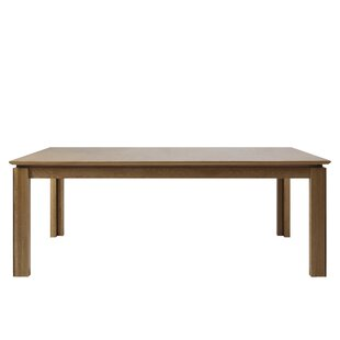 Extra Large Dining Tables Wayfaircouk - Extendable beech dining table