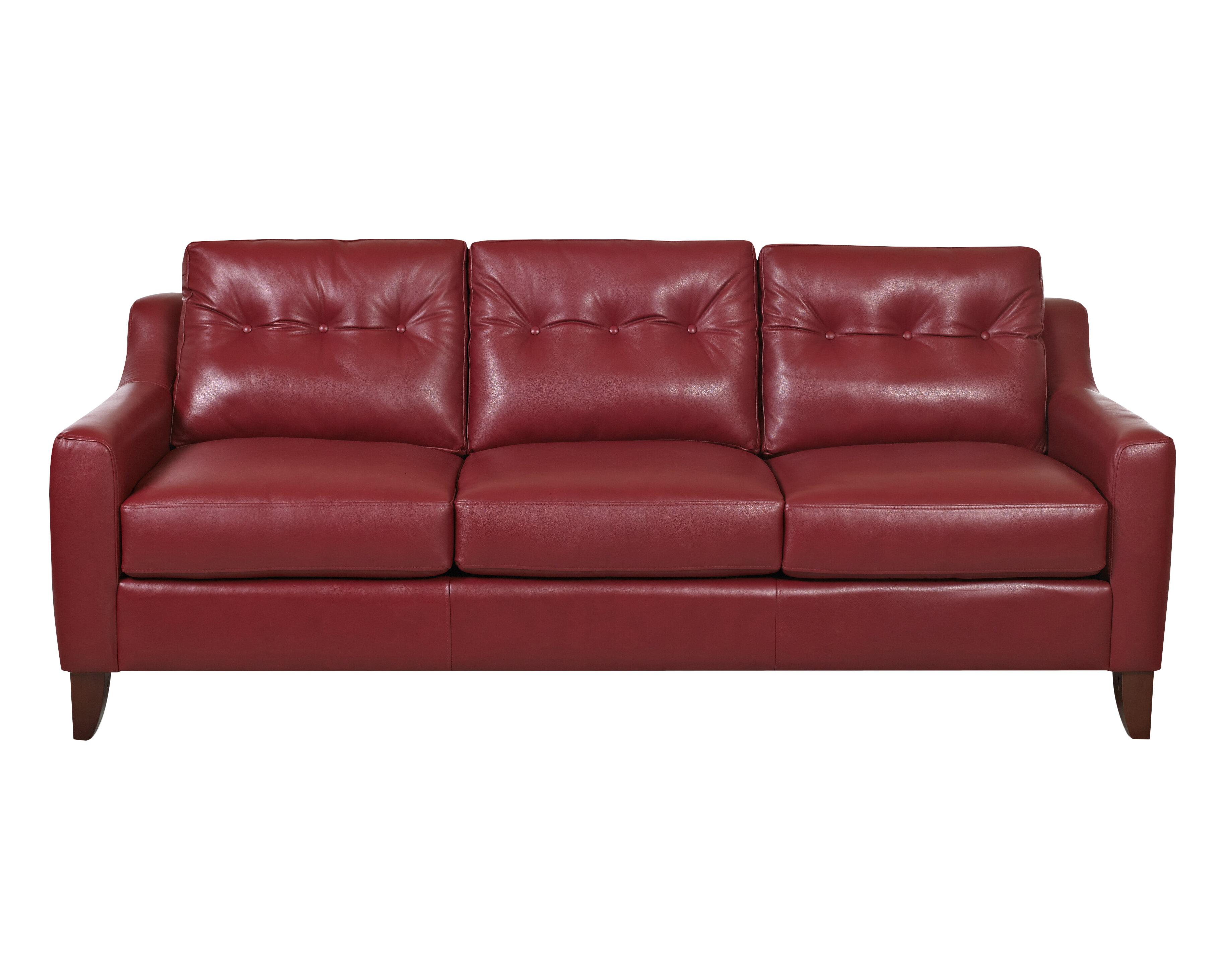 Trent Austin Design Levell Leather Sofa & Reviews | Wayfair