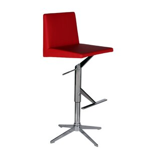 Ethan Adjustable Height Swivel Bar Stool by Bellini Modern Living