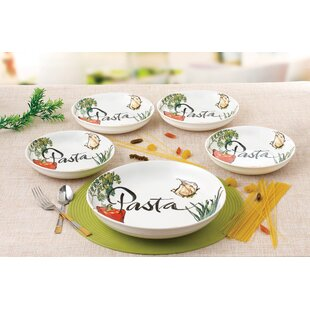 Cool Sienna 5 Piece Pasta Bowl Set Contemporary - Best Image Engine ...