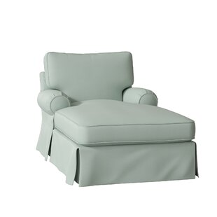 Lily Slipcovered Chaise Lounge