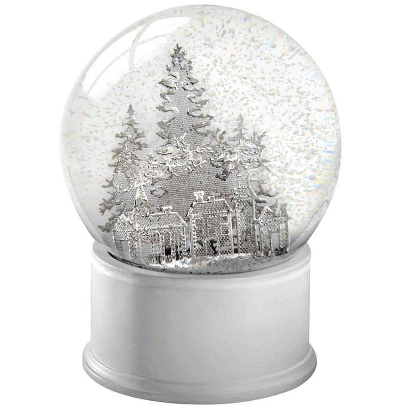 The Seasonal Aisle Santa Sleigh and Christmas Trees Snow ...