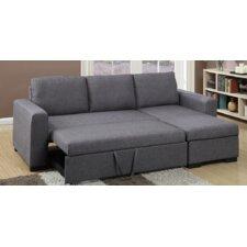 belcourt sleeper sectional - Crypton Sofa