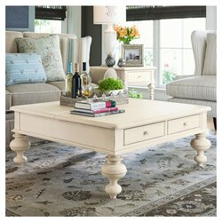 What To Put On A Coffee Table wildon home ® paula deen home put your feet up coffee table with