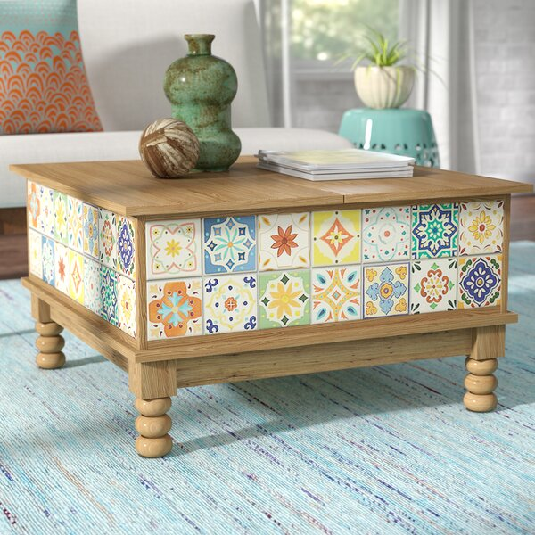 Small Coffee Tables That Lift Up: Mistana Campbell Lift Top Coffee Table & Reviews
