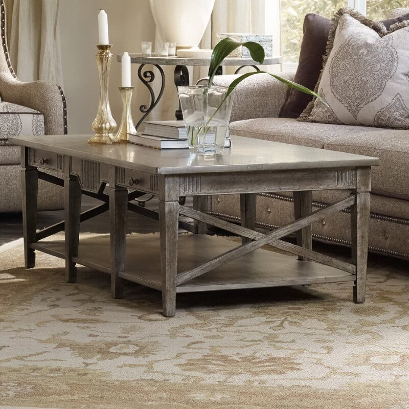 Hooker Furniture True Vintage Coffee Table with Storage Reviews