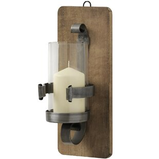 Wrought iron wall lights wayfair wrought iron wall sconce aloadofball Image collections
