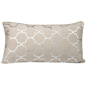 Salisbury Foil Tile Lumbar Pillow