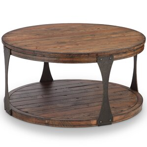 Aradhya Coffee Table with Casters by 17 Stories