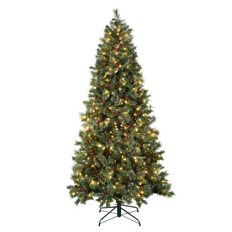 The Holiday Aisle 7 5 Green Artificial Christmas Tree With 500