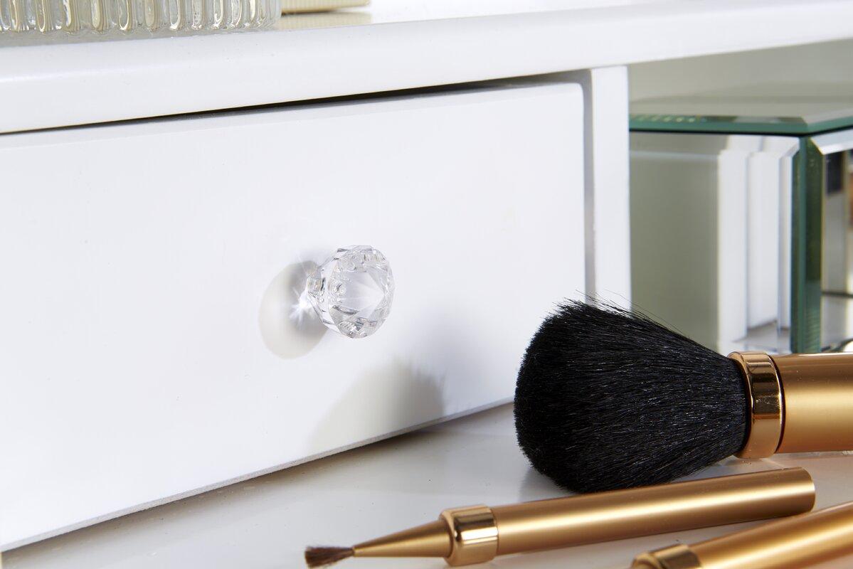 maison alouette schminktisch set lucy mit spiegel bewertungen. Black Bedroom Furniture Sets. Home Design Ideas