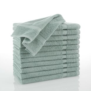 Aqua Bathroom Towels | Wayfair