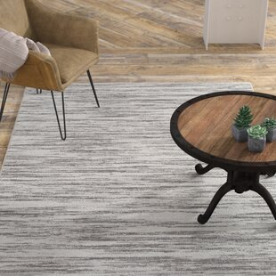 Great Price Franklin Abstract Gray/White Area Rug ByWilliston Forge