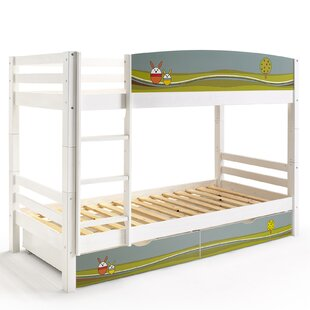 Papallona Single Bunk Bed with Storage by Just Kids