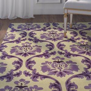 jasper handtufted purplebeige area rug
