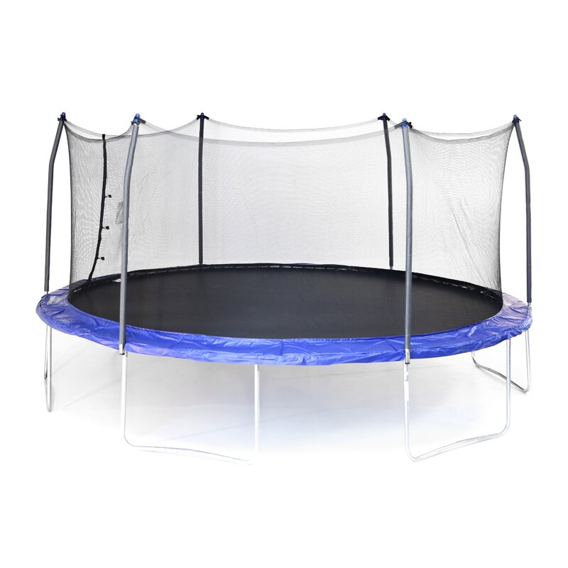Top 10 Best Oval Trampoline With Safety Enclosures Our Top: Skywalker 17' X 15' Oval Trampoline With Safety Enclosure