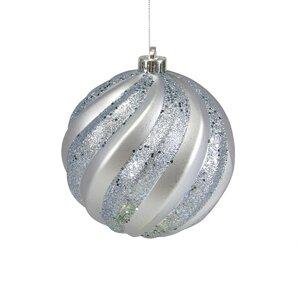 Gray Christmas Ball Ornaments You'll Love   Wayfair