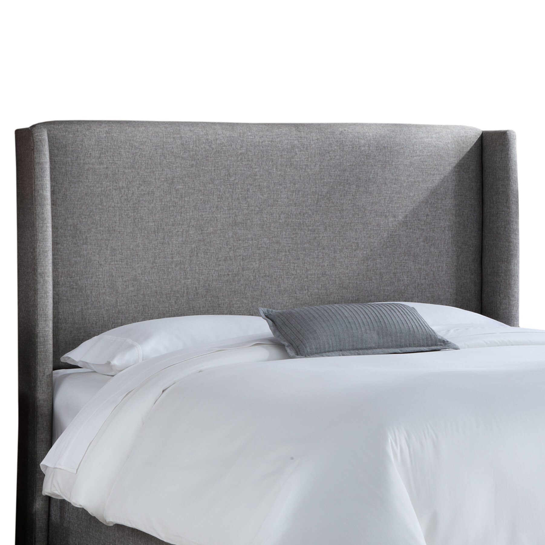 tufted copy for color size gray headboard elegant upholstered wingback high awesome advice