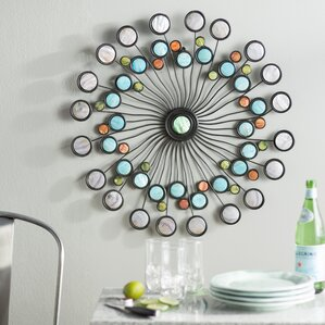 Square Metal Wall Art metal wall art - wall décor | wayfair
