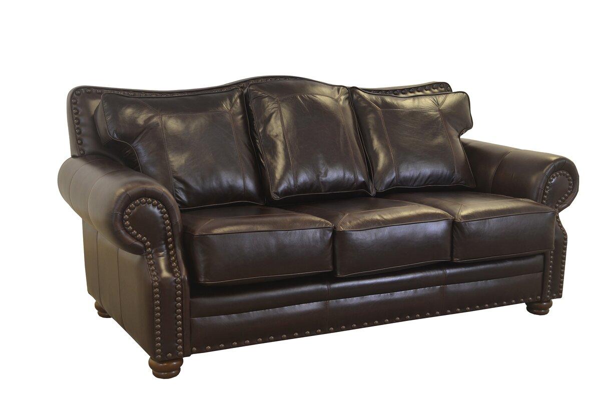 Westford Genuine Top Grain Leather Sofa